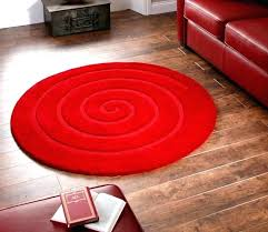 red circle rug area rugs round small size braided runner 9 x circular black