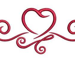 Heart Scrolls Heart Scrolls Etsy