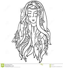 Black And White Girl Pic Coloring Page Coloring Page Libraries