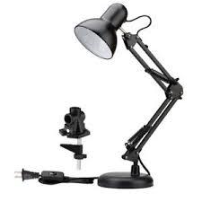 image is loading leswingarmdesklampcclamptable clamp on desk lamp m94