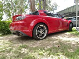 mazda rx8 modified red. mazda rx8 auto cheap modified red
