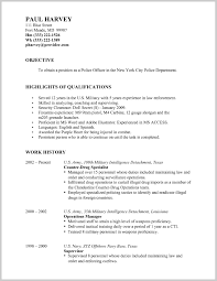 Cute Military Resumes Examples Photos Entry Level Resume