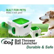 ball thrower. idog midi automatic ball launcher with remote control thrower
