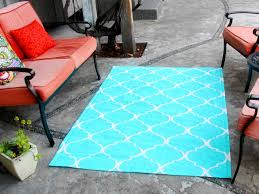 how to turn a canvas drop cloth into an outdoor rug