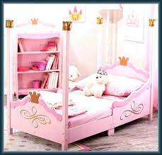princess canopy toddler bed – nookbali