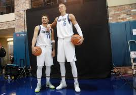Luka Doncic And Kristaps Porzingis Are The New Faces Of The