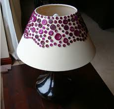 Hand Made Lampshades Extraordinary Make A Lampshade With Buttons Button Lampshade  Lampshade . Design Decoration
