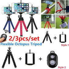 2/3pcs/set Flexible <b>Mini Octopus Tripod Bracket</b> Holder Mount for ...