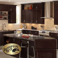 kitchens with dark brown cabinets. Dark Brown Kitchen Cabinets The Home Depot Chocolate Cabinet Kitchens With H