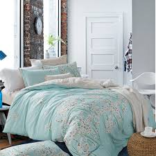 6pcs cotton duvet cover set 100 cotton twin full queen king size bedding sets with fl pattern