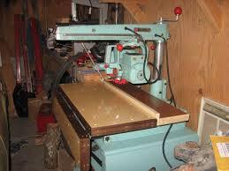 dewalt 925 radial arm saw. comments: post resto before first cut. drop leaf down source: myself dewalt 925 radial arm saw