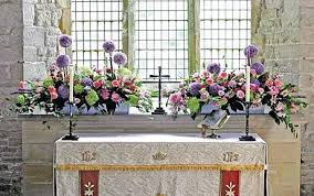 church flowers the power and the glory