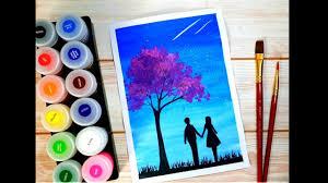 Vẽ tranh galaxy cực đơn giản với giấy A4 thông thường và màu nước Thiên  Long. | Màu nước, Tranh màu nước, Painting