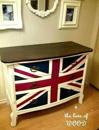 painted furniture union jack autumn vignette. Union Jack Furniture 4 The Love Of Wood Dresser In . Painted Autumn Vignette H