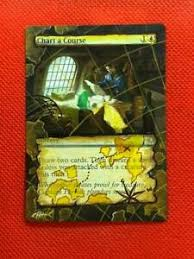 Details About Chart A Course Mtg Magic Ixalan Hand Painted Altered Full Extended Art
