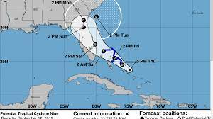 Potential Tropical Cyclone 9