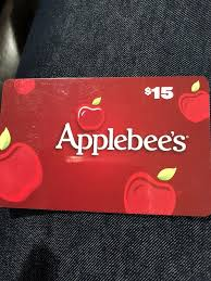 applebee s gift card 15 never used 1 of 1only 1 available applebee s gift card 15 never used 12 00 pic