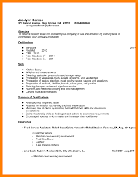 7 Line Cook Sample Resume Budgets Examples