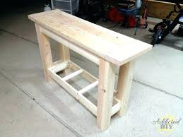 diy sofa table plans sofa table plans sofa table awesome console table plans plans free build diy sofa table