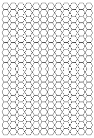 Hexagon Graph Paper Pdf Free Printable Hexagonal Graph Papers Template Free Graph
