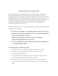 community service essay student essays essay community service project reflection 511 words bartleby