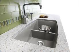 blanco silgranit double bowl kitchen sink