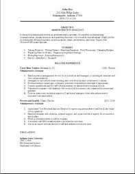 Resumes For Administrative Assistants Beauteous Executive Assistant Resume Template Socialumco
