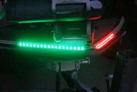 Green Led Light Strips Inspiration LED Red Green Navigation Light Strips Set Green Blob Outdoors