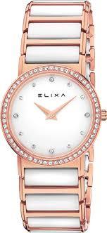 Швейцарские <b>часы Elixa</b> Ceramica <b>E100</b>-<b>L393</b>, купить оригинал