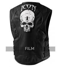 add to compare motorcycle icon regulator skull leather vest
