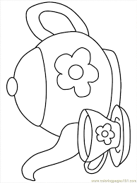 Small Picture teapot coloring pages