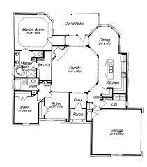 Open Floor House Plans  Beautifull Open Floor Plan HWBDO14810 Country Style Open Floor Plans