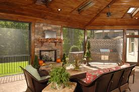 wood patio cover ideas. This Screened In Patio Has An Enormous Arched Wooden Ceiling With Ample Skylights. A Screen Wood Cover Ideas