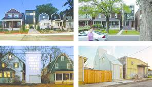New House Download New Houses In Existing Built Fabric In Canada And Usa Shaft House