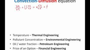 lecture 01 part 3 convection diffusion equation 2016 numerical methods for pde