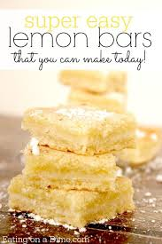 lemon ginger lighting bar. lemon bars ginger lighting bar