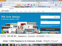 create your own website out any cost get a sub website out cost jimdo com is one of them this site is very good and easy to create a website for that i used jimdo com to