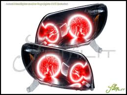 03-05 Toyota 4Runner LED Halo Rings Headlights Bulbs