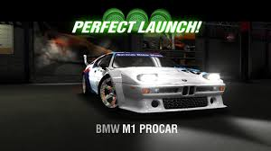 Racing Rivals BMW M1 Procar Perfect Launch Tutorial - YouTube