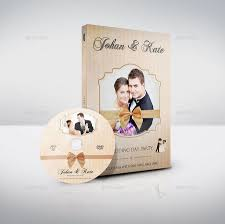 Wedding Dvd Template Wedding Dvd Cover And Label Template Bundle Vol 2 Cover Dvd