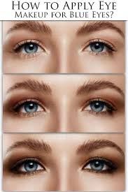 how to apply eye makeup for blue eyes 10 steps with pictures
