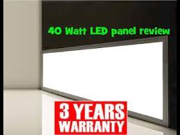 40 watt 3200 lumen 1200 x 300 led panel