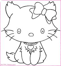 Jeu De Coloriage Hello Kitty Gratuit Dernier D Coration Coloriage 7