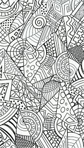 Anti Stress Colouring Page