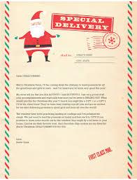 Santa Letter Templates Christmas Joy Pinterest Santa Letter