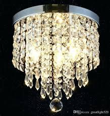 crystal ball chandelier modern clear crystal ball chandelier flush mount ceiling pendant lamp porch aisle lamp crystal ball chandelier