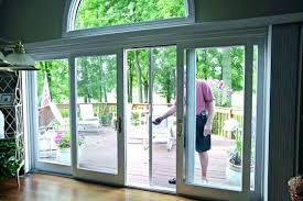 retractable glass doors patio 6 folding exterior cost
