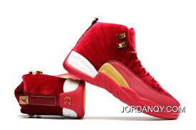 J12 Shoe Size Chart Jordan 12a J12 36 40 Red 2017 Women New Release Price