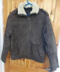 cottonfield men s flight leather jacket o 60 1 7 kg