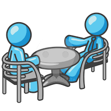 people meeting table clipart free